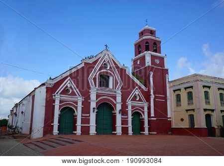 San Francisco Church in the sleepy town of Mompox, Colombia