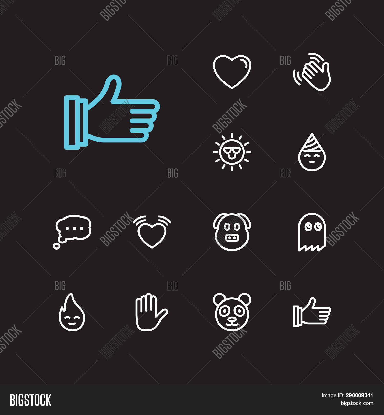 Emoji Icons  Set Image & Photo (Free Trial) | Bigstock