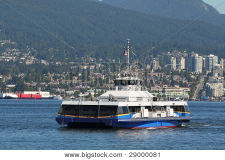 Vancouver Seabus Commuter Ferry