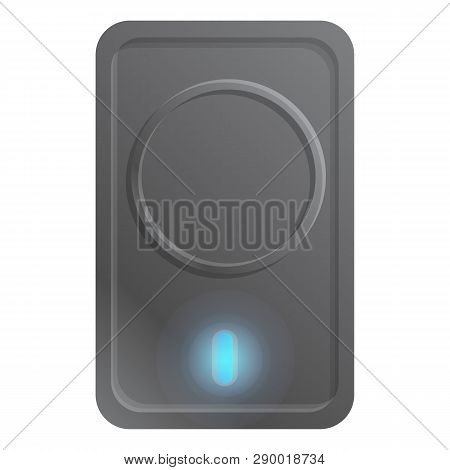 Gigabyte Hard Drive Icon. Cartoon Of Gigabyte Hard Drive Vector Icon For Web Design Isolated On Whit
