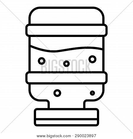 Mineral Water Cooler Icon. Outline Mineral Water Cooler Vector Icon For Web Design Isolated On White