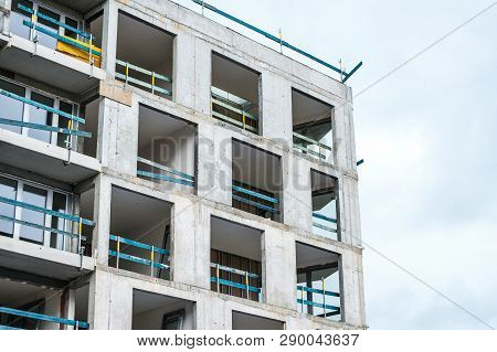 Building Under Construction - Real Estate Development -