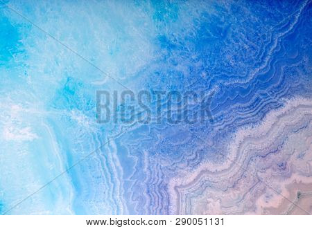 background with bright color agate structure