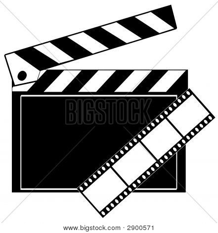 Clapboard Film Strip