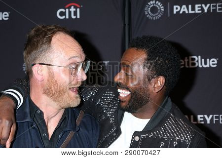 LOS ANGELES - MAR 16:  Ethan Embry, Baron Vaughn at the PaleyFest -