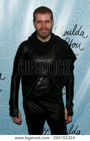 NEW YORK-APR 14: Blogger Perez Hilton attends the Broadway opening night for 'It Shoulda Been You' at Brooks Atkinson Theatre on April 14, 2015 in New York City.