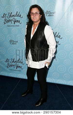 NEW YORK-APR 14: TV personality Rosie O'Donnell attends the Broadway opening night for 'It Shoulda Been You' at The Edison Ballroom on April 14, 2015 in New York City.