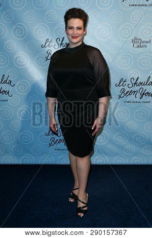 NEW YORK-APR 14: Actress Lisa Howard attends the Broadway opening night for 'It Shoulda Been You' at The Edison Ballroom on April 14, 2015 in New York City.