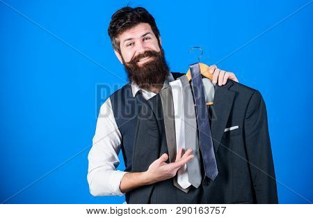 Perfect Necktie. Shopping Concept. Shop Assistant Or Personal Stylist Service. Stylist Advice. Match