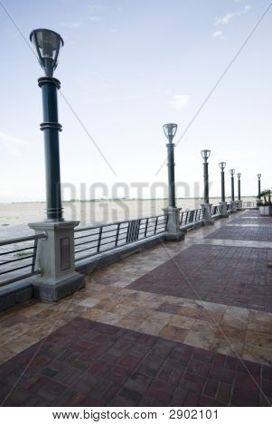Plaza Puerto Santana Guayaquil Ecuador