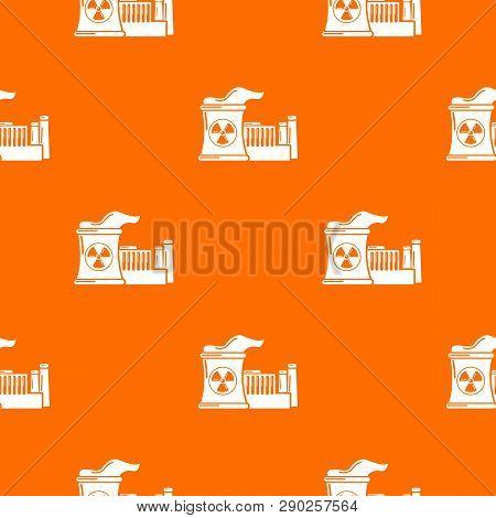 Atomic Reactor Pattern Vector Orange For Any Web Design Best