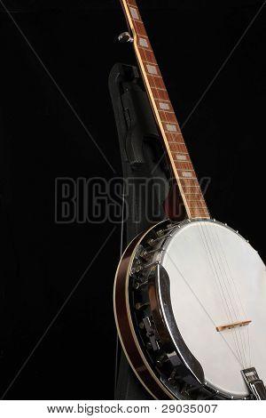 Banjo On Black