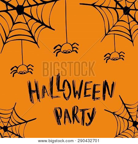 Halloween Party Vector Photo Free Trial Bigstock