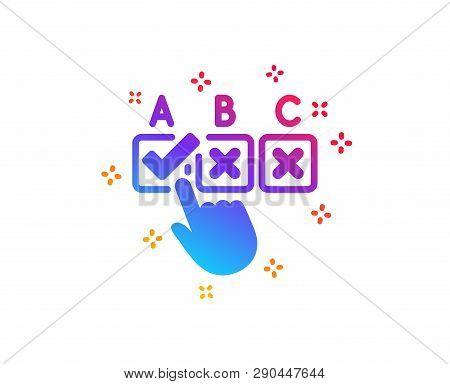 Correct Checkbox Icon Vector & Photo (Free Trial)   Bigstock