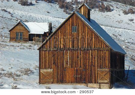 Homestead House And Barn