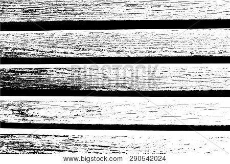 Abstract Background, Vector Wood Texture. Plank Heavy Surface. Overlay Illustration Over Any Design