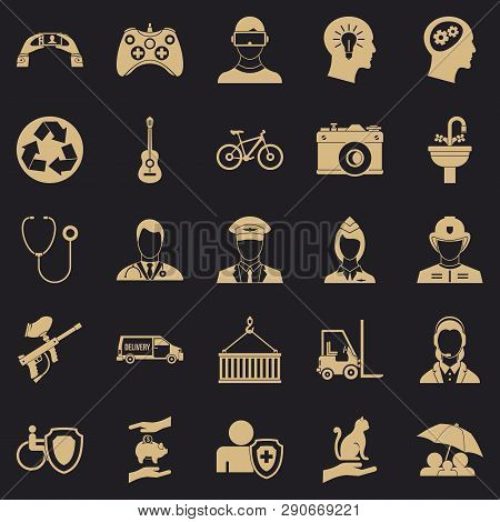 Personnel Department Icons Set. Simple Set Of 25 Personnel Department Vector Icons For Web For Any D