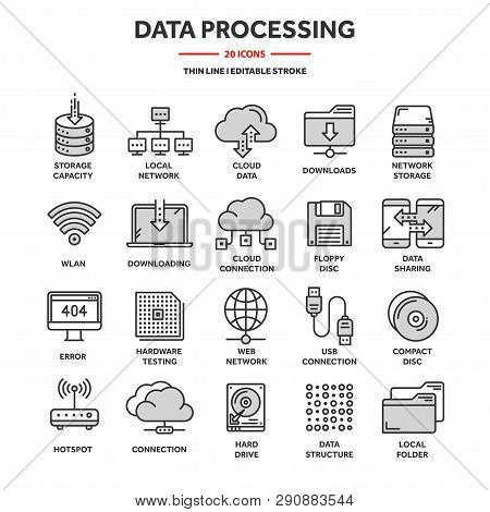 Cloud Computing. Internet Technology. Online Services. Data Processing, Information Security. Connec