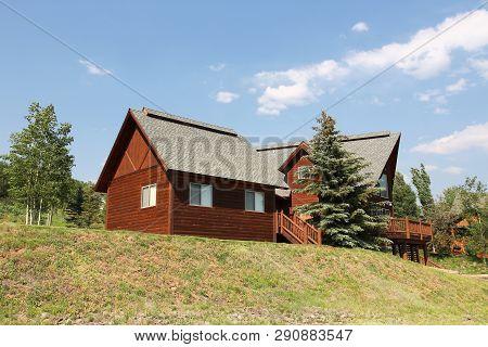 Colorado Wooden Home