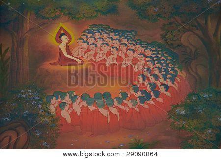 Buddha's biography: Buddhist monks arise