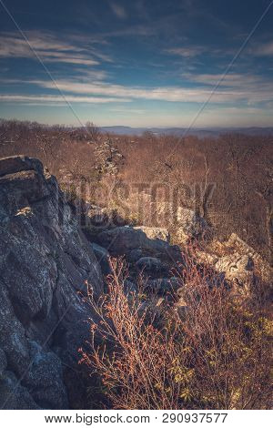 Shot From High Rocks Overlook In The South Savage Mountain Natural Area Which Is Part Of Savage Rive