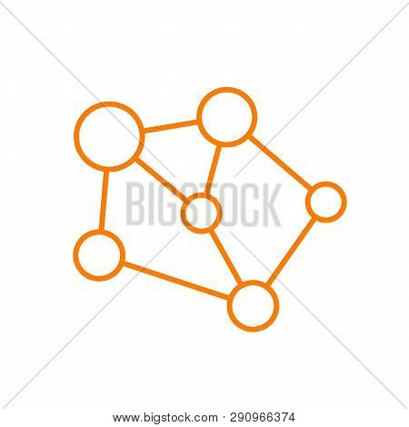 Network Icon Vector Icon On White Background. Network Icon Modern Icon For Graphic And Web Design. N
