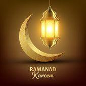 Ramadan Kareem Greeting Card Vector. Islam. Lamp. Lantern Design. Mubarak Night. Ramazan Greeting Design. Islamic Season Invitation Banner Illustration poster