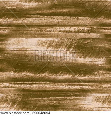 Beige Crackle Paint. Worn Shabby Texture. Abstract Old Frame. Distress Wooden Illustration. Crackle