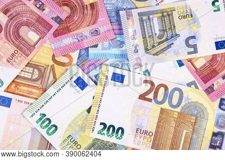 Euro Banknote Isolated On White! Euro Banknotes