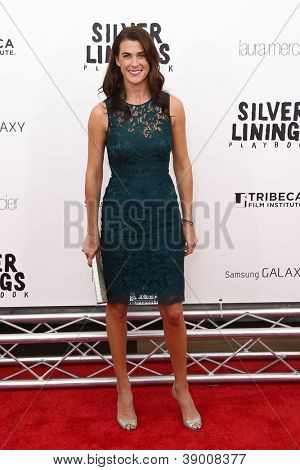 NEW YORK-NOV 12: Lilly Hartley attends the premiere of