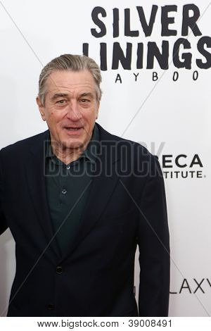 NEW YORK-NOV 12: Actor Robert DeNiro attends the premiere of