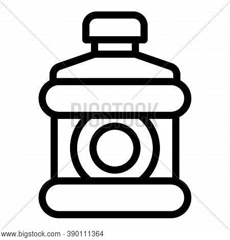 Fresh Mouthwash Icon. Outline Fresh Mouthwash Vector Icon For Web Design Isolated On White Backgroun