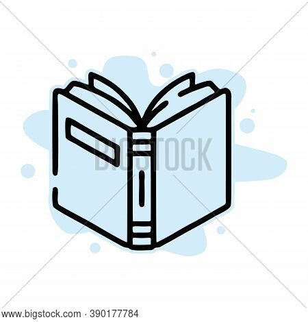 Open Book Icon Trendy And Modern Open Book Symbol For Logo, Web, App, Ui. Open Book Icon Simple Sign