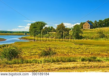 Choate Hog Island, The Largest Island In The Essex River Estuary, That Provides Stunning Panoramas O