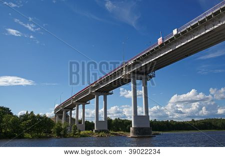 Vyborg, Leningrad Oblast. Friendship Bridge