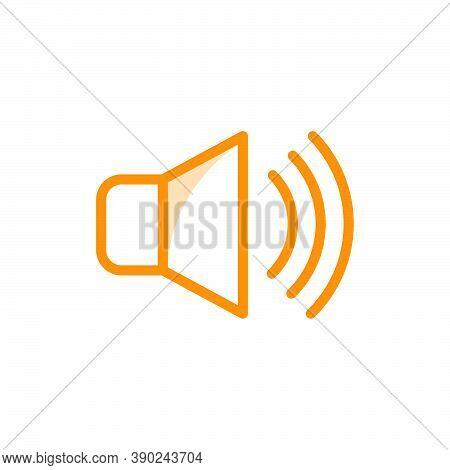 Speaker Icon Vector Design Template