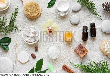 Natural Skin Care And Spa Set