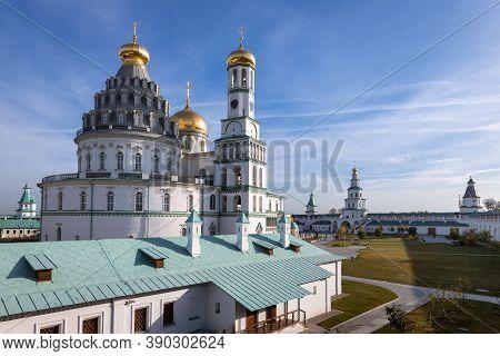 The Resurrection Monastery Or New Jerusalem Monastery. Istra, Moscow Region, Russia