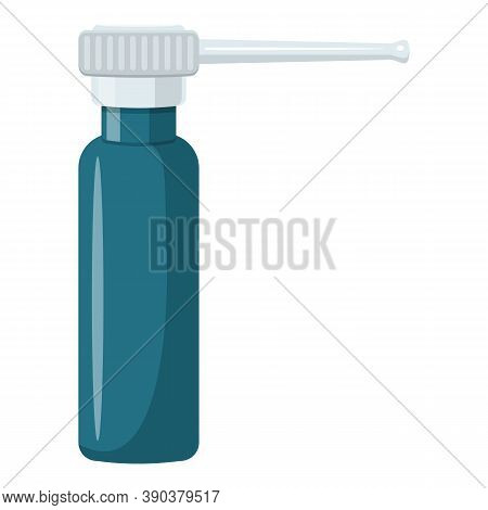 Spray For Throat Icon. Cartoon Of Spray For Throat Vector Icon For Web Design Isolated On White Back