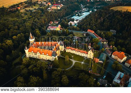 Zleby Chateau Is A Chateau Approximately 7 Km East Of Caslav. It Was Originally A Castle Built By Th