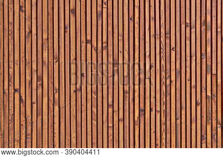 The Texture Of The Surface Of The Wooden Planks. Background Of The Ceiling Cladding Planks. Smooth B