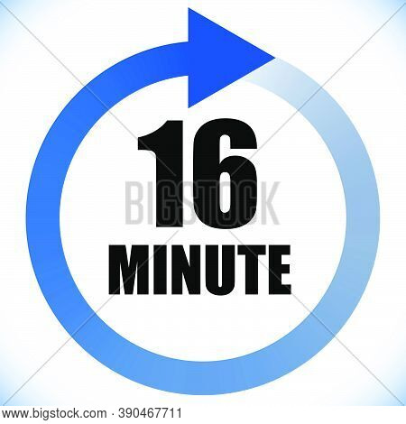 Numbers, Numerals Dial Illustration. Time, Duration And Schedule Concept Icon. Turnaround Time (tat)