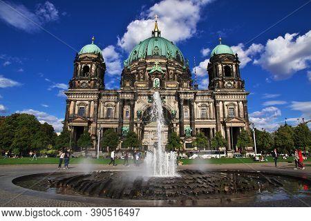 Berlin, Germany - 08 Sep 2015: Berlin Cathedral, Germany