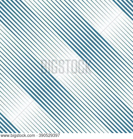 Lines Seamless Pattern. Diagonal Stripes Ornate. Striped Image. Linear Background. Strokes Ornament.