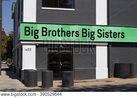 Indianapolis - Circa October 2020: Big Brothers Big Sisters Of America Location. Big Brothers Big Si