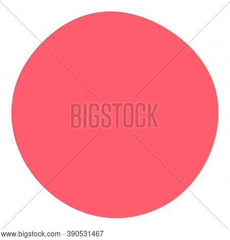 Gum Candy Sweet Ball Icon. Flat Illustration Of Gum Candy Sweet Ball Vector Icon For Web Design