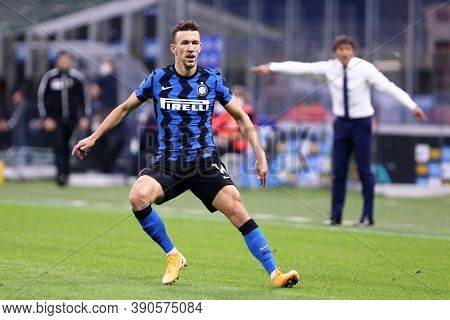 Milano (italy), 17th October 2020. Ivan Perisic Of Fc Internazionale In Action During The Serie A Ma
