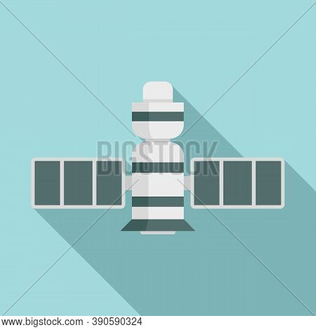 Signal Satellite Icon. Flat Illustration Of Signal Satellite Vector Icon For Web Design
