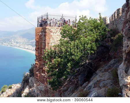 Balcony Of Kleopatra, Alanya, Turkey