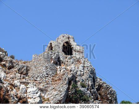 Ruins Of A Byzantine Church